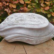 Sculptuur Steengoed aanzicht andere zijde
