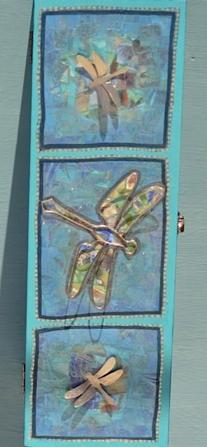 Gedenkdoosje met libellen
