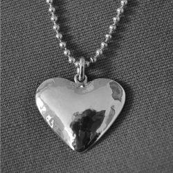 Assieraad hartvormige hanger