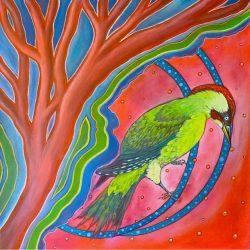 Acryl schilderij 50x50cm