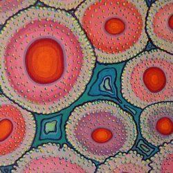 Detail schilderij 'De vijf elementen'