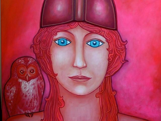 Acryl schilderij 60x50cm