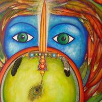 Acryl schilderij 120x80cm